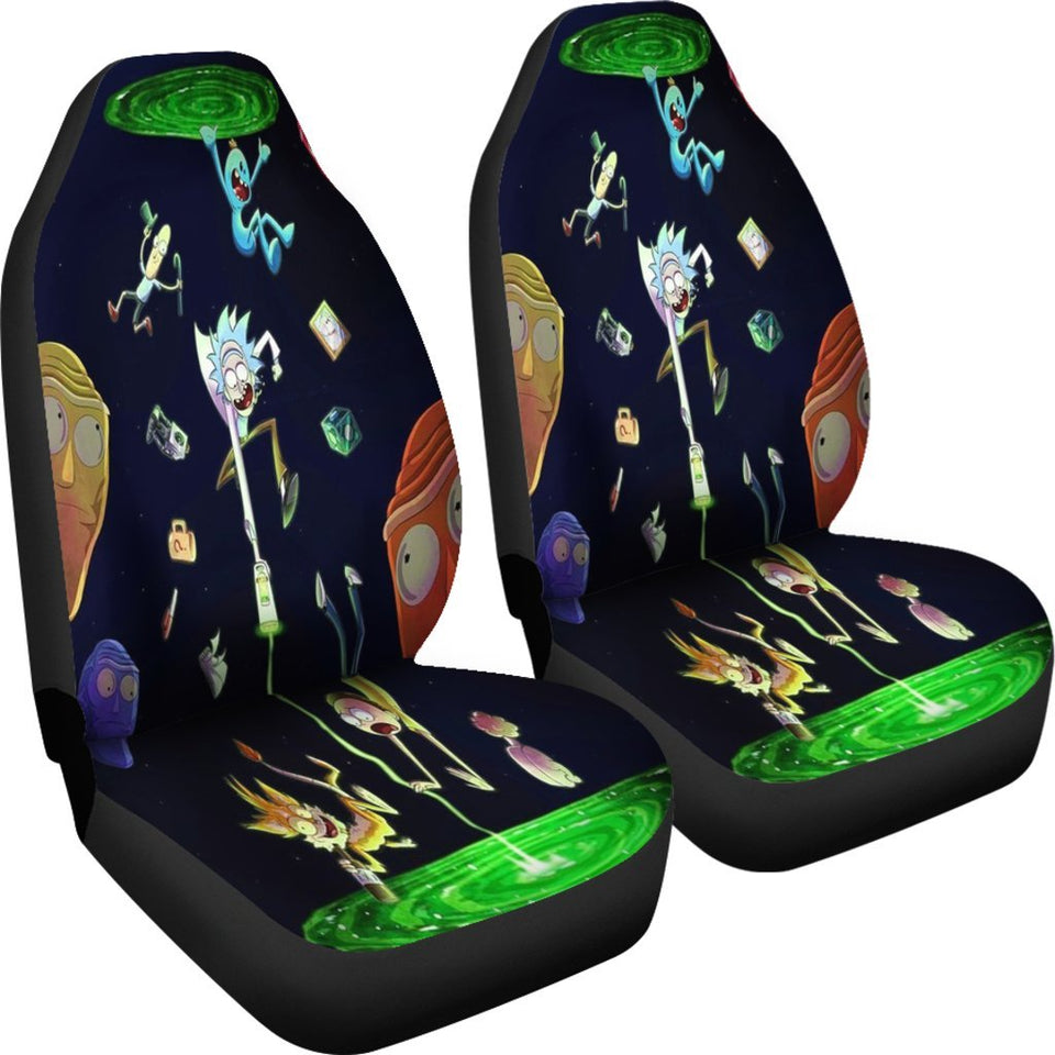 Car Seat Covers Rick And Morty K1222