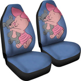 Piglet And Teddy Animal Car Seat Covers