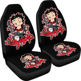 Betty Boop Ride Motorbike Car Seat Covers Cartoon H1225