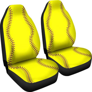 Soft Ball Art Car Seat Covers Amazing Gift Ideas T041520