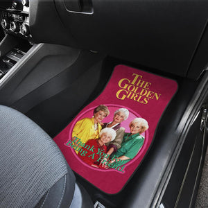 The Golden Girls Circle Friend Tv Show Car Floor Mats H1222