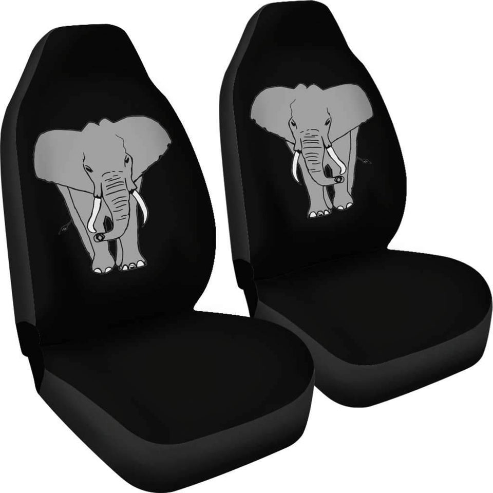 Elephant Cartoon Car Seat Covers Amazing Gift Ideas T032720