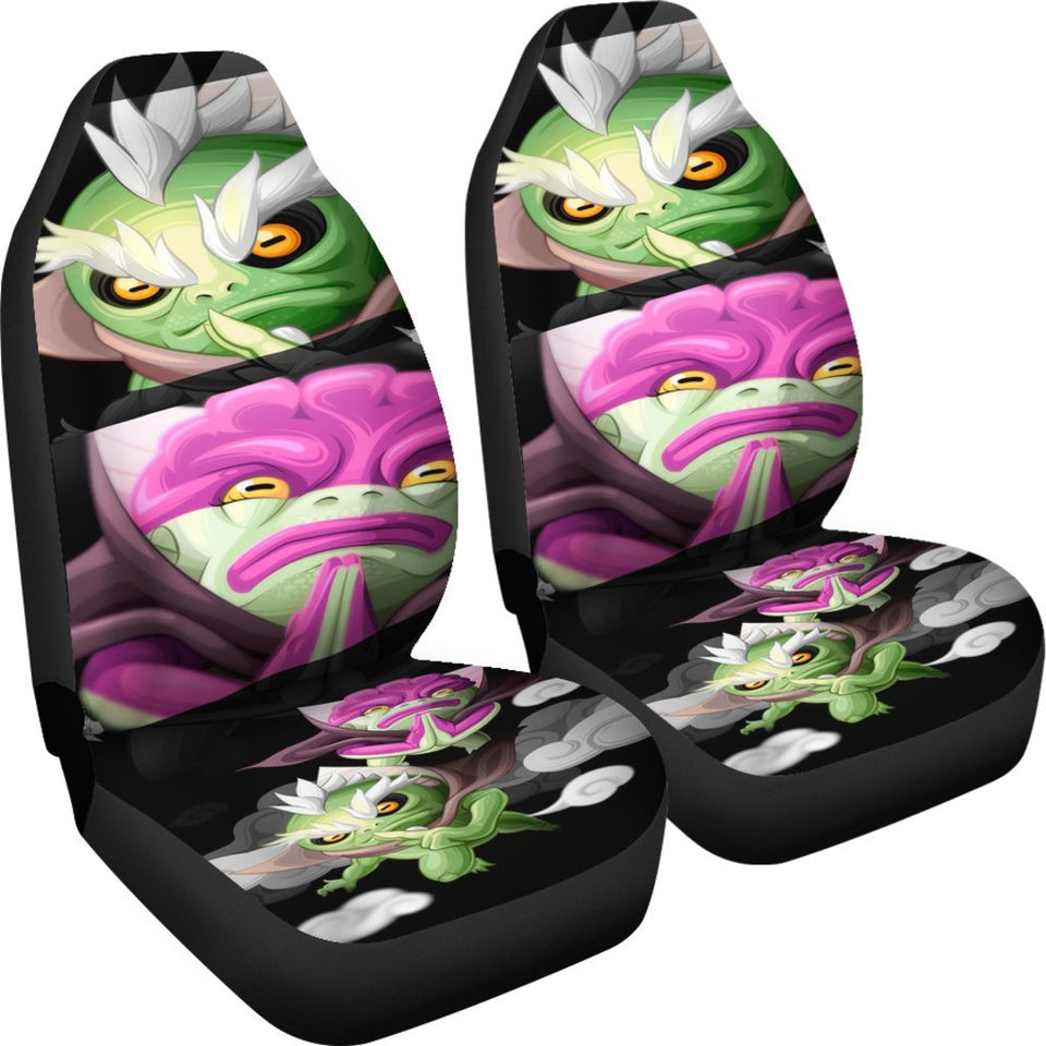Naruto Two Old Frog Anime Car Seat Covers