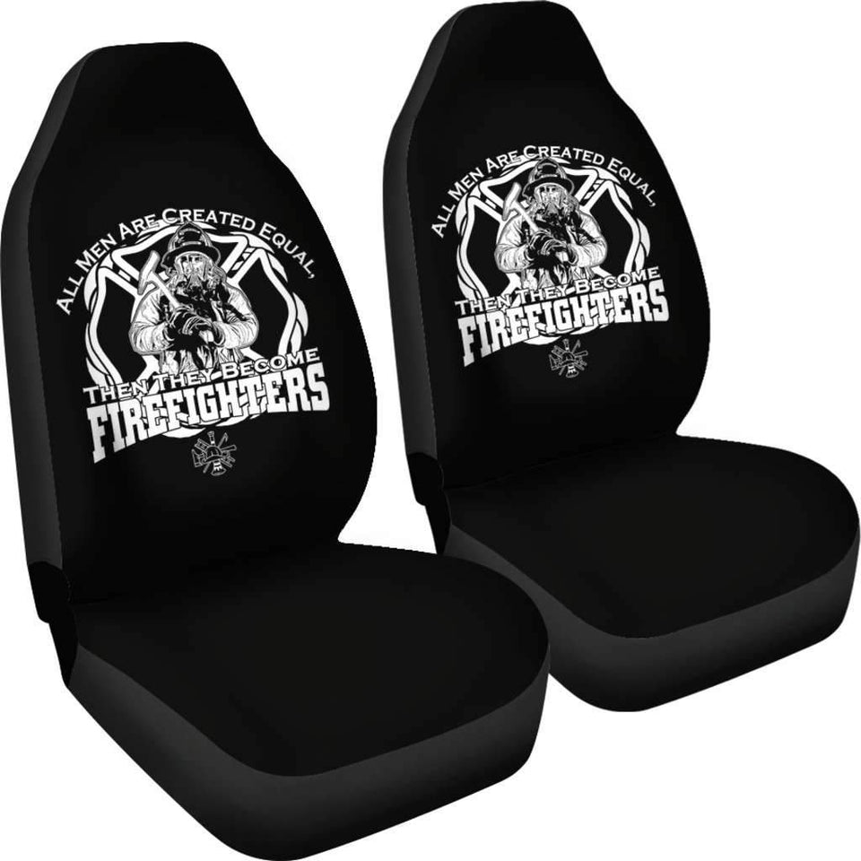 All Men Firefighters Pride Job Car Seat Covers T032021