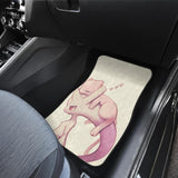 Mega Mew Two And Cute Pokemon Car Floor Mats 191026