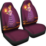 Rapunzel Car Seat Covers Disney Princess Cartoon T1228