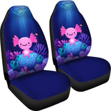 Coral Axolotl Blue Pokemon Car Seat Covers