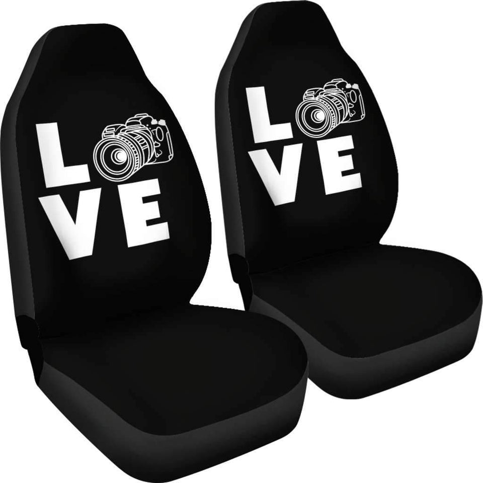 Photography Camera Love Car Seat Covers Amazing Gift T041120
