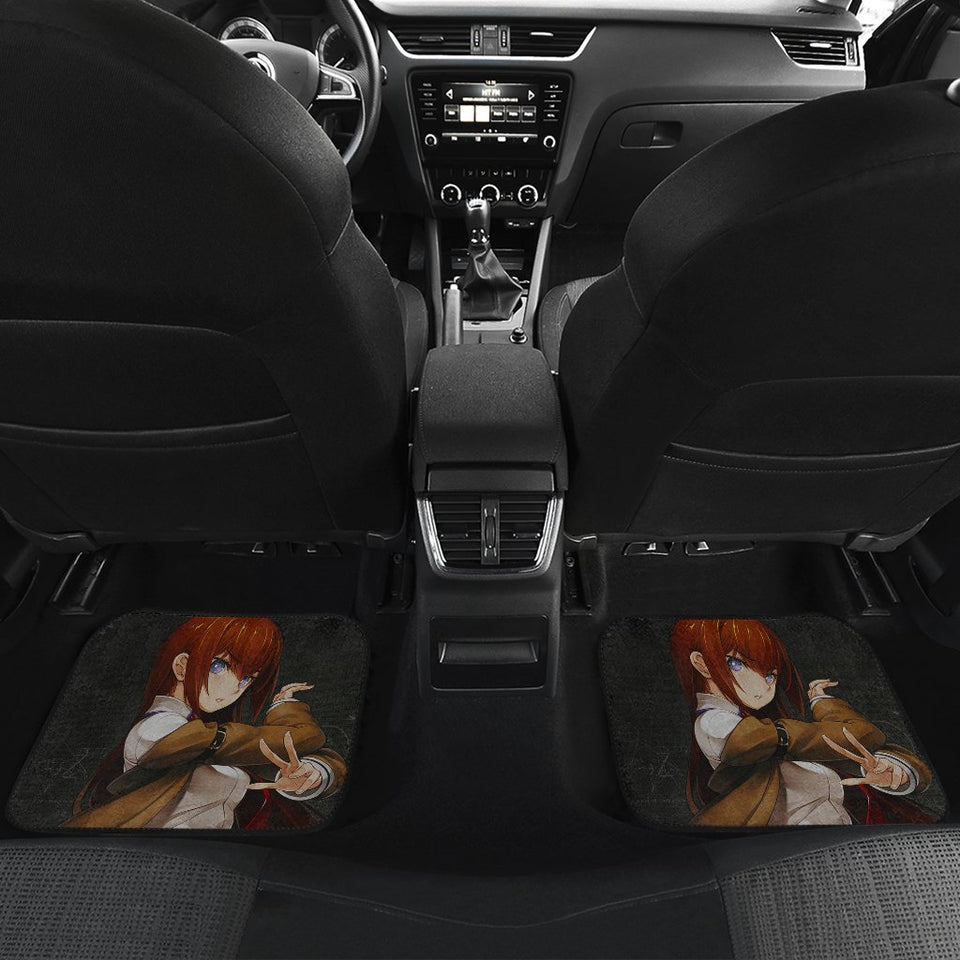 Steins Gate Anime Girl Car Floor Mats 191101