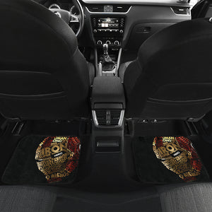 Iron Man Avengers Sitting Throne Marvel Infinity Gauntlet Car Floor Mats NA022310