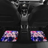 Ram And Rem Re Zero Anime Car Floor Mats 191030
