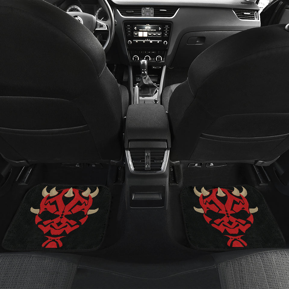 Darth Maul Star Wars Lightsaber Car Floor Mats NA022401