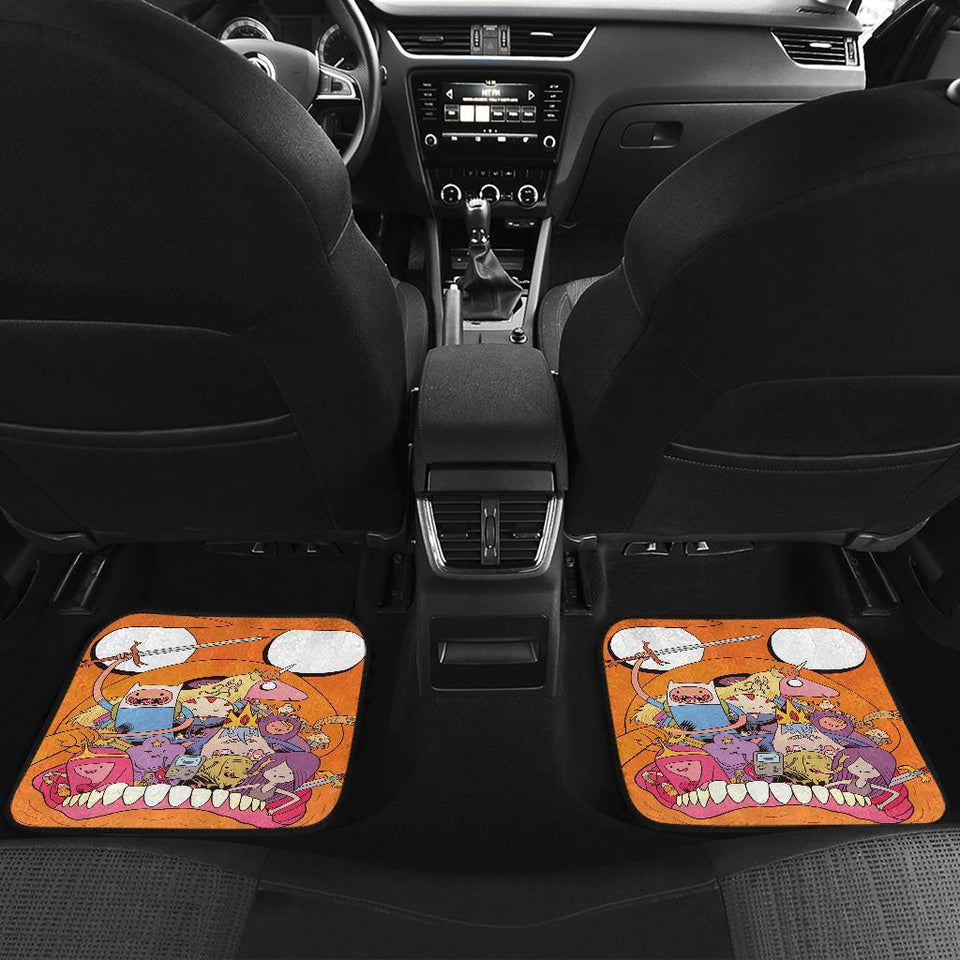 Adventure Time Cartoon In Jack Theme New Car Floor Mats 191017