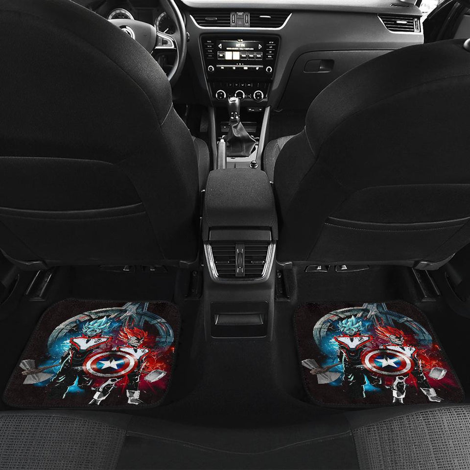 Goku Vegeta Avenger Custom Car Floor Mats 191023