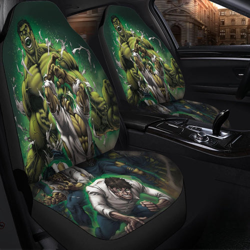 Hulk Transform Avengers Mavel Car Seat Covers