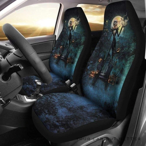 Jack Nightmare Before Christmas Car Seat Covers 170601 T1120