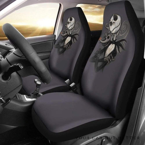 Jack & Zero Nightmare Before Christmas Car Seat Covers 170601 T1120