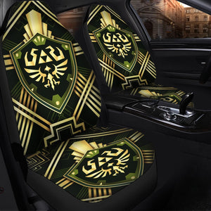 Legend Of Zelda Shield Anime Car Seat Covers