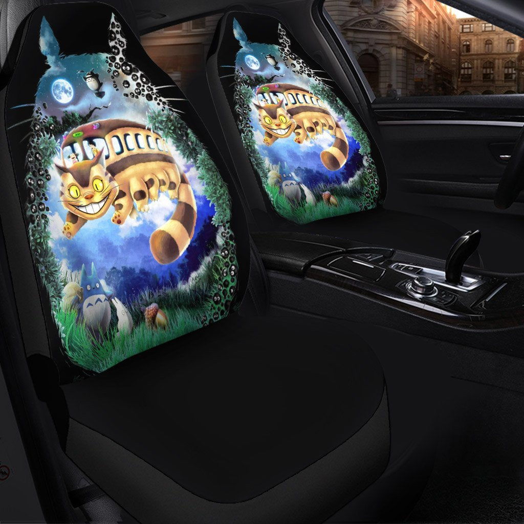 My Neighbor Totoro Cat Anime Car Seat Covers