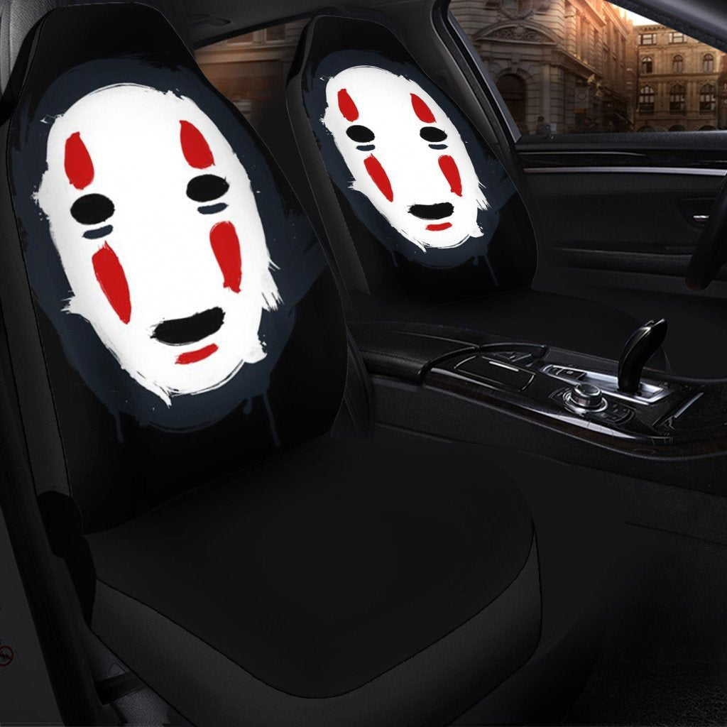 No Face Anime Car Seat Covers