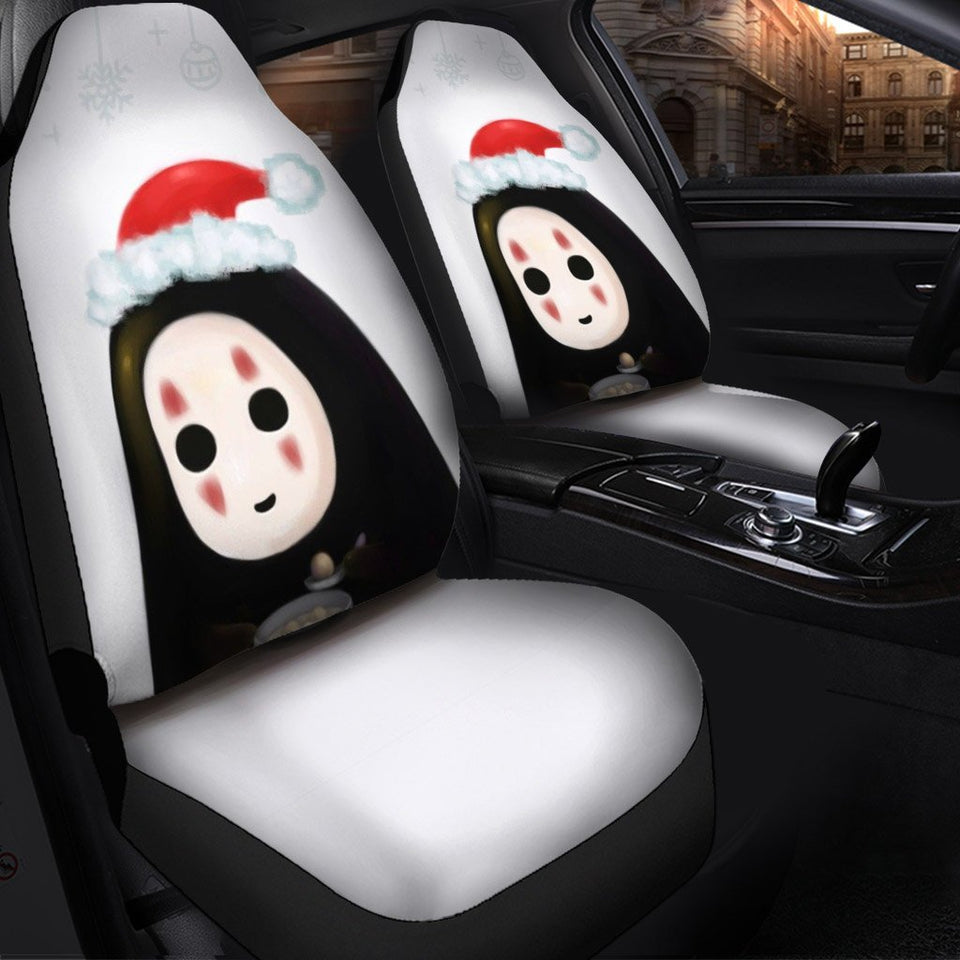 No Face Christmas Anime Car Seat Covers