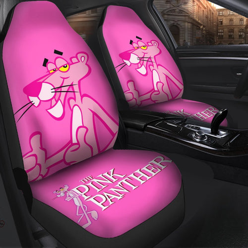 Pink Panther Cartoon Car Seat Covers