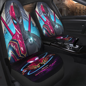 Spiderman Far From Home Car Seat Covers