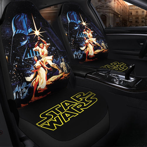 Star Wars 1977 Car Seat Covers