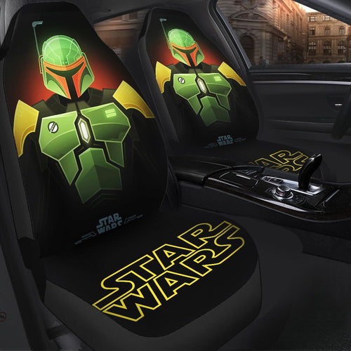 Star Wars Boba Fett Car Seat Covers