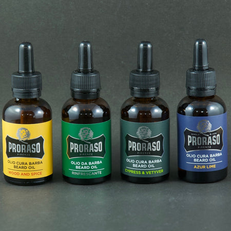 PRORASO BEARDS OILS