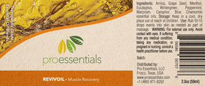 REVIVOIL | Essential Oil Blend - Muscle Recovery