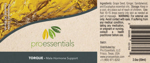 TORQUE | Essential Oil Blend - Male Hormone Support