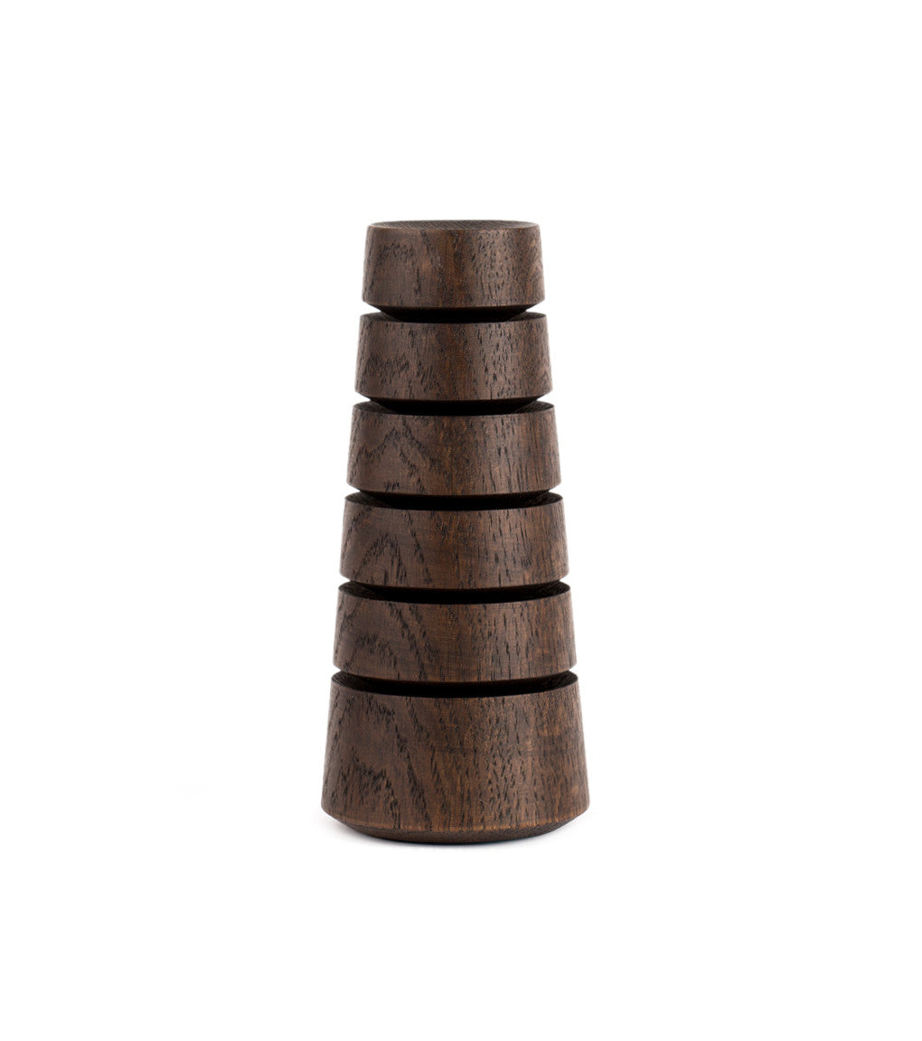 Babel Desktop Organizer Dark Oak Product Image