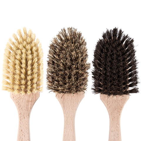 Natural Fibre Cleaning Brush