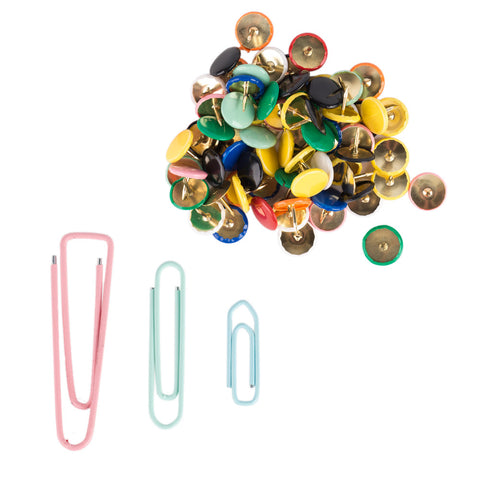 Italian Paper Clips and Thumb Tacks Product Image