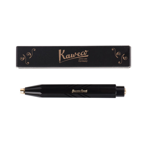 Kaweco Classic Sport Clutch Pencil Black Guilloche with Box