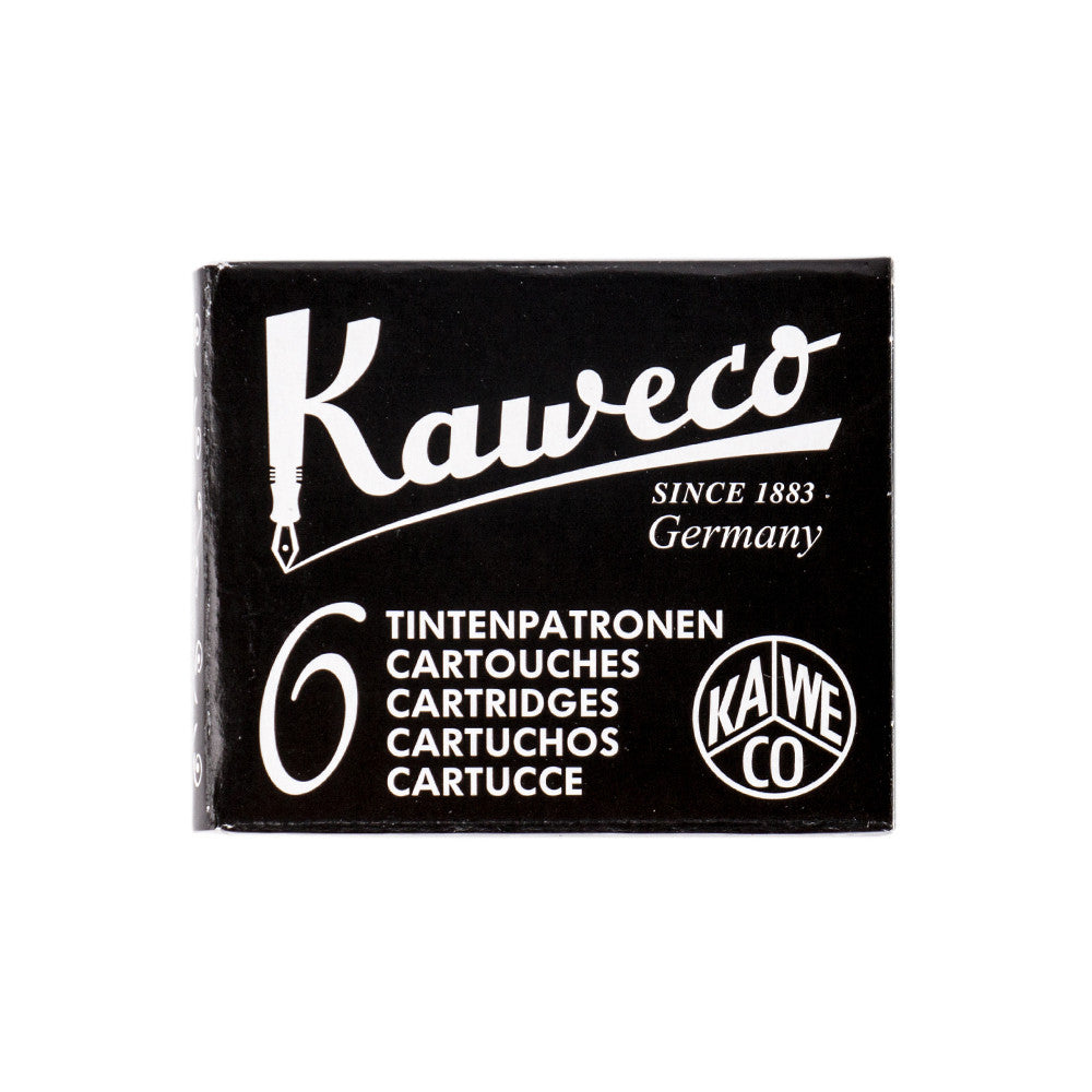 Kaweco Black Ink Refill Cartridges