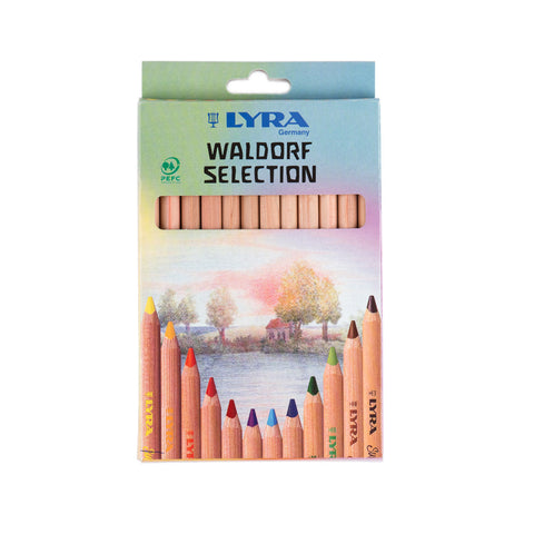 Lyra Super Ferby Colouring Pencils Waldorf  Assortment packaging