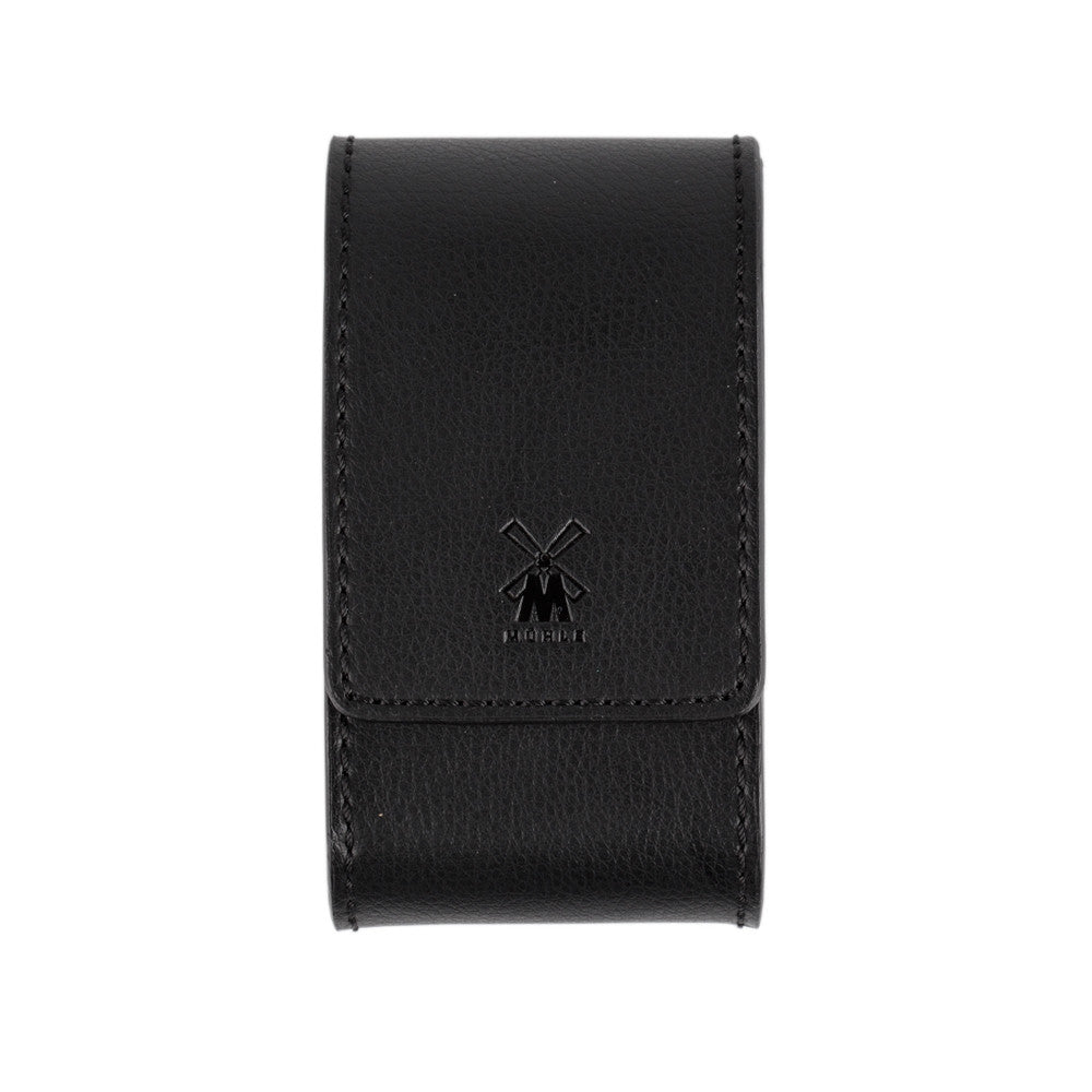 Mühle Black Leather Safety Razor Case Product Image