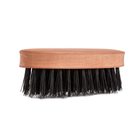 Boar Bristle Beard Brush Quarter view