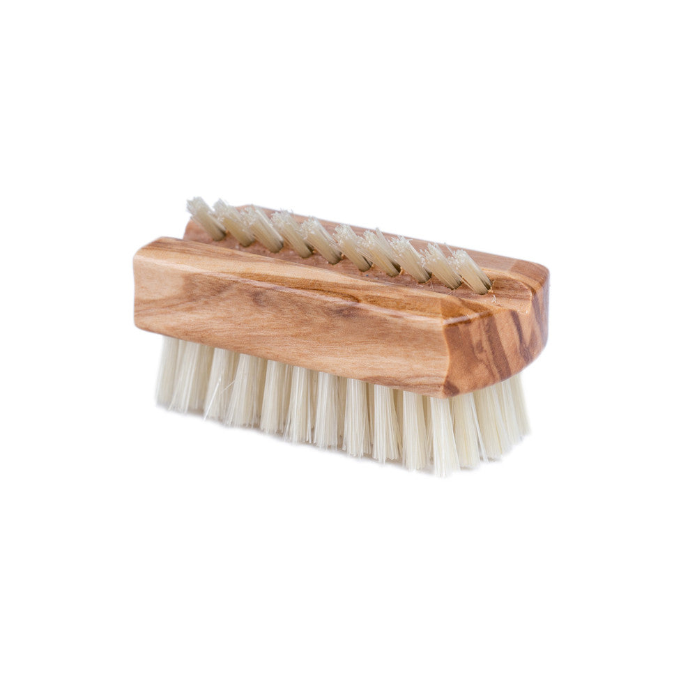 Redecker Travel Nail Brush Olive Wood Product Image