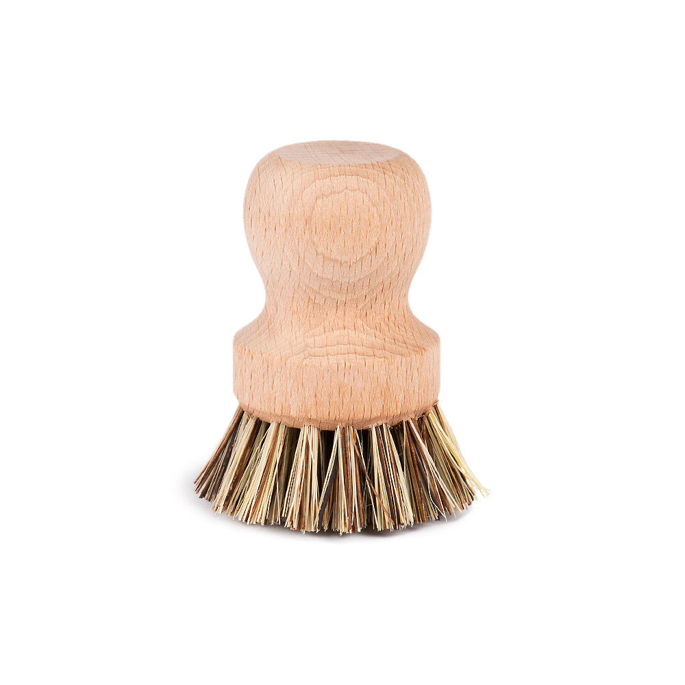 Pot Scrubbing Brush by Redecker main view