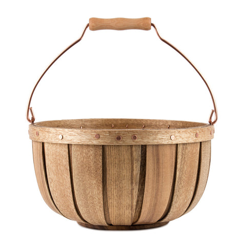 Small Myrtlewood Basket Main Image
