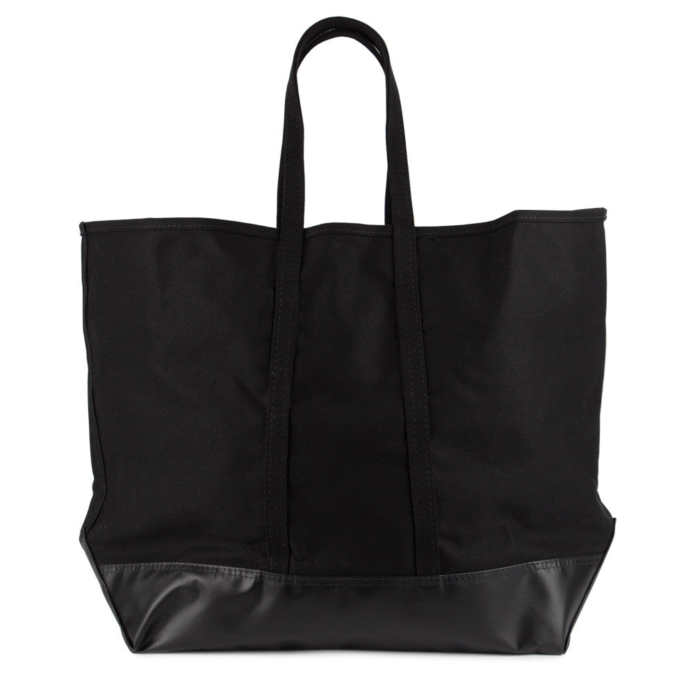 Steele Canvas Oversized Black Canvas Tote Bag