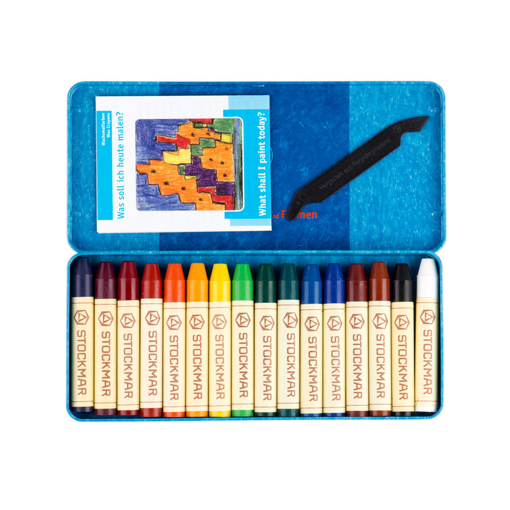Stockmar Beeswax Crayons Tin of 16 Product Image