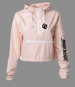Women's Lightweight CropTop Windbreaker