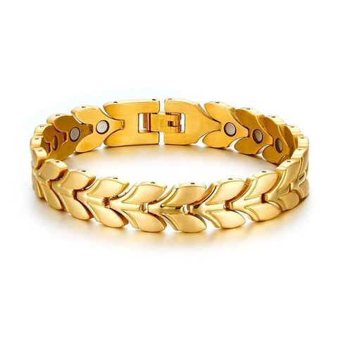 2019 New Gold-color Magnetic Bracelet
