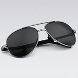 Brand Designer Pilot Polarized Male Sunglasses