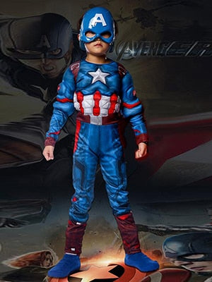 Captain America Halloween Costumes For Kids