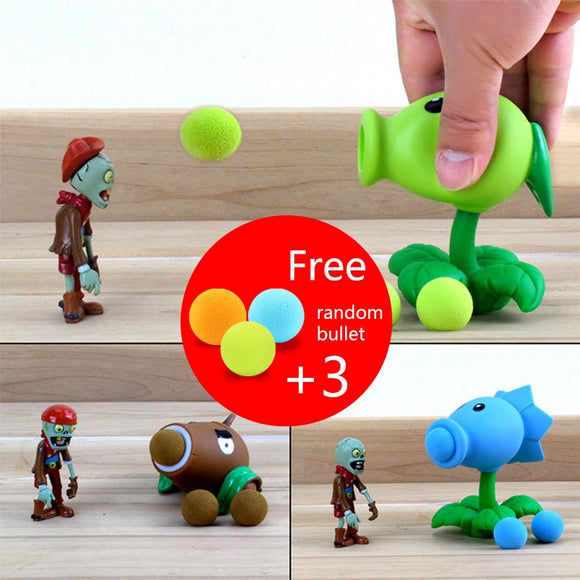 Plants vs Zombies Peashooter Action Figure